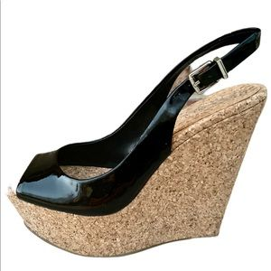 Jessica Simpson Amande Black Platform Sandal